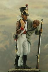 support wounted napoleonic medic corp tin soldiers miniatures figurines military toy soldiers buy figures miniatures sets support wounded addition another corp depict feriti figure he helping hi medical napoleon newest one our rifle soldier soutien supporto use walk who