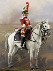 cuirassier trumpetter military toy soldiers buy figures miniatures sets 1810 1812 1809 1815 reg reggimento toy soldiers figures tin models kit online shop trombettiere trompette trumpeter year